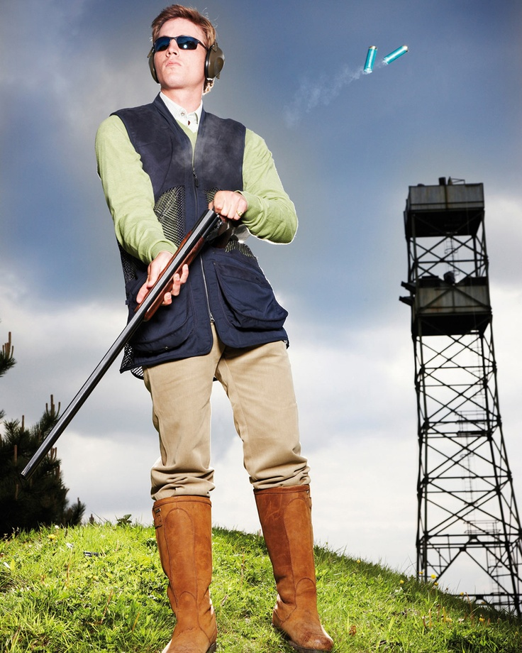 Competition Skeet Shooting Vest | Mens Shooting Clothing ...