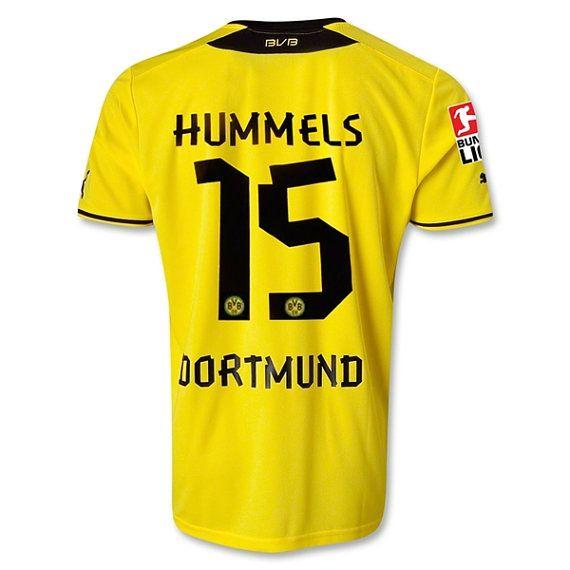 Mens 2013/14 Borussia Dortmund Mats Hummels 15 by SoccerAvenue, $69.95