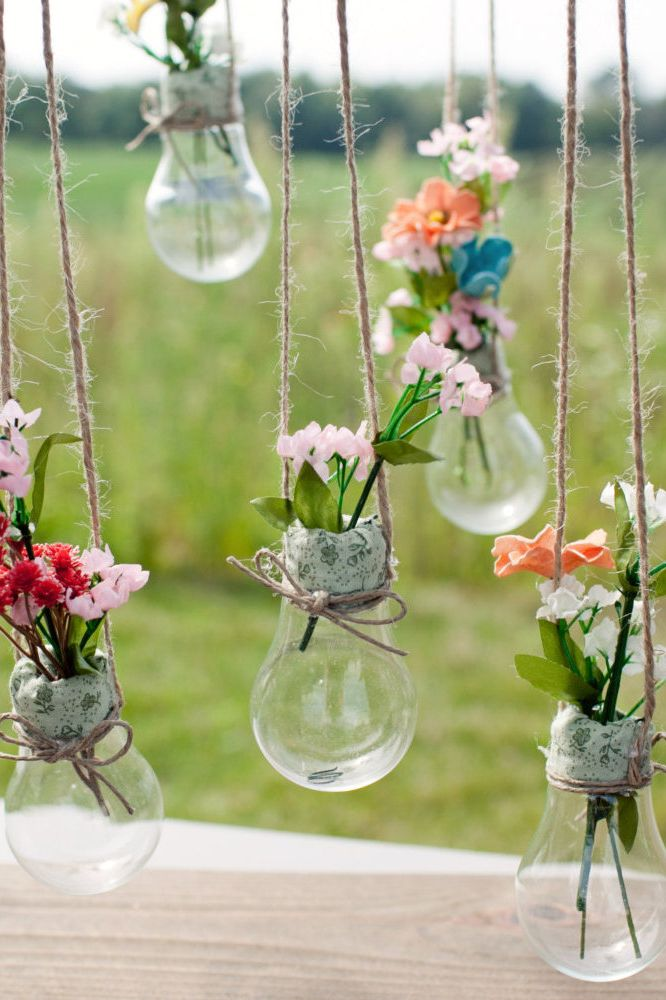 Wedding Craft Ideas Pinterest : ... wedding decor cottage chic vintage or rustic barn wedding hanging