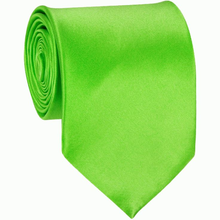 For Adam and Dianna - FOUND!  Lime Green Solid Color Ties Mens Neckties