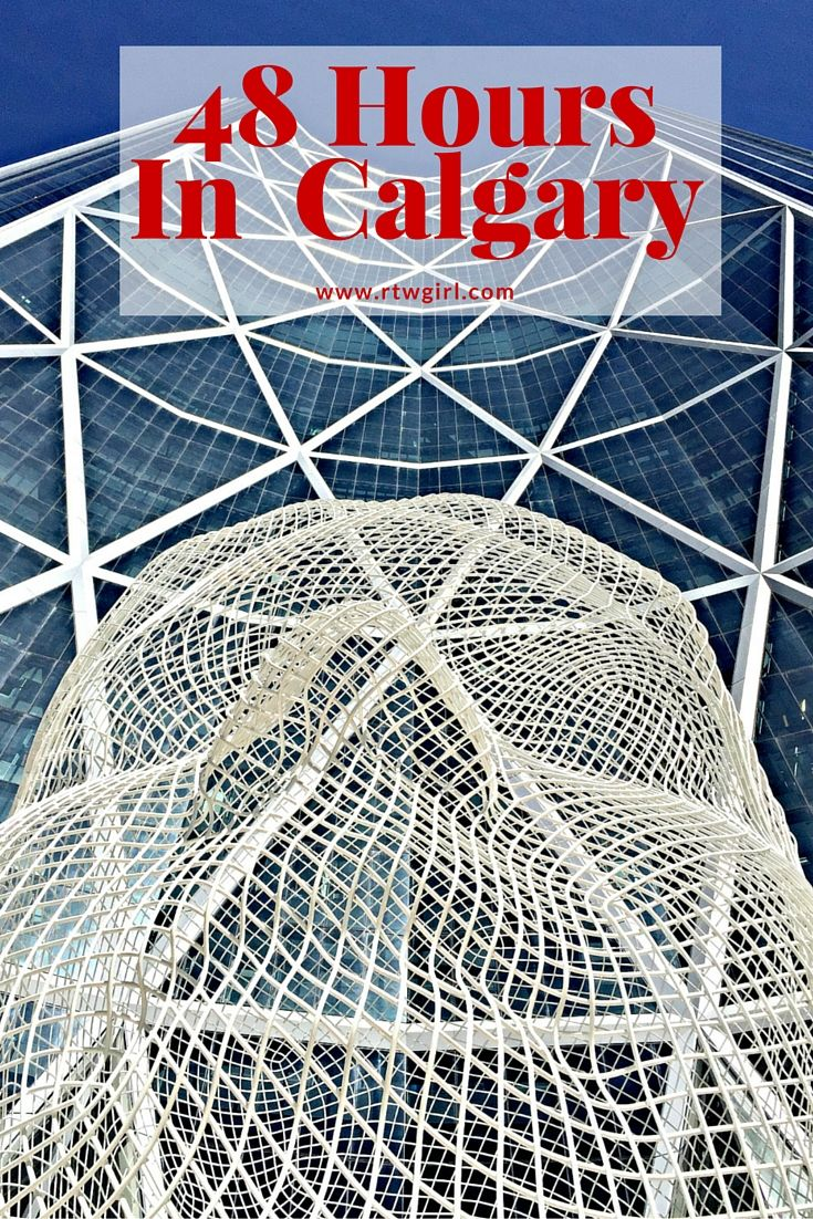 If you're planning travel to Banff National Park or Lake Louise in the Rockies, Calgary is the closest city to fly into. Be sure to add in a few days to explore this up and coming Canadian city.