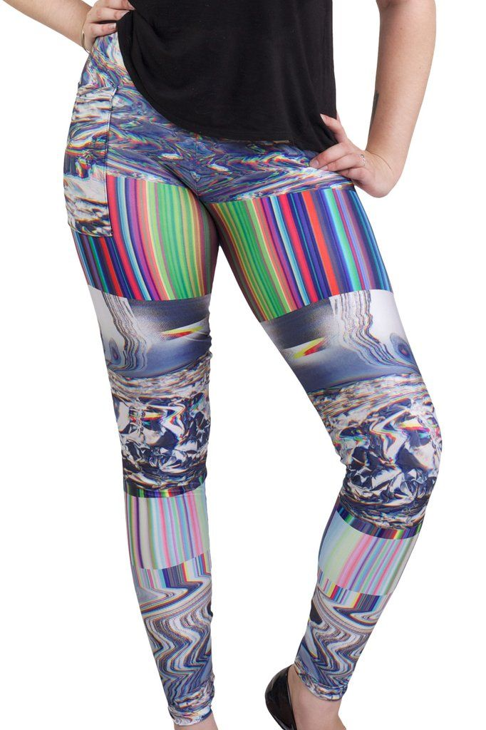 A Glitch In The System Pocket Leggings.