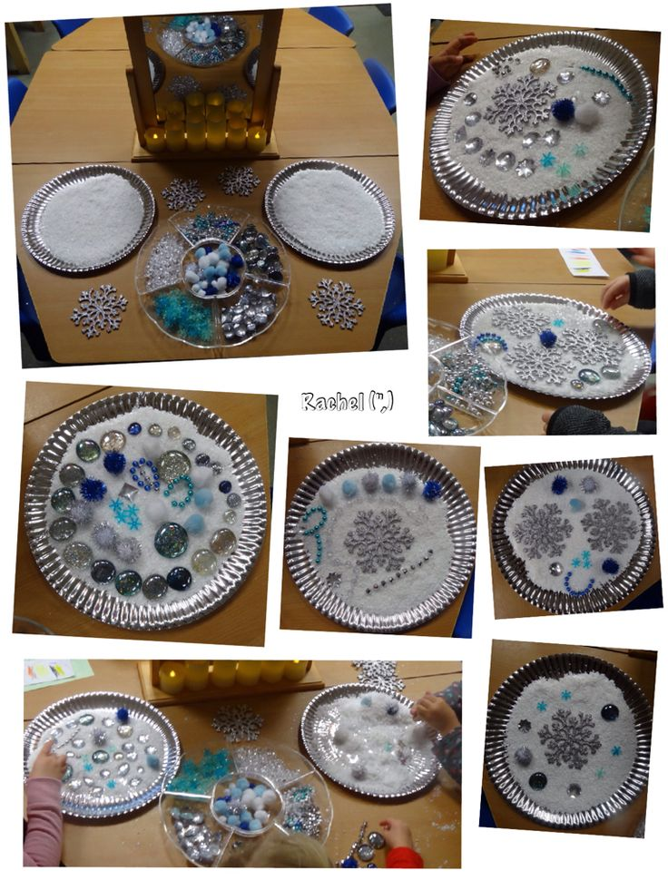 "Patterns in the 'snow' from Rachel ("",)"