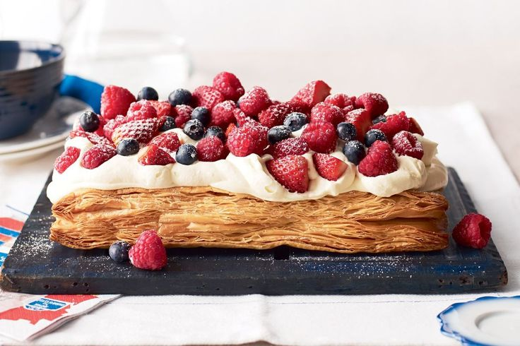 Easy mille-feuille