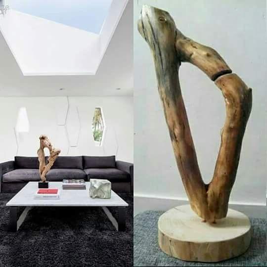 Bijzonder toeval! Ineens kom je een foto tegen in een interieur magazine waar een sculpture op staat dat op je eigen ontwerp lijkt  #decor #decoration #sculptures #sculpture #woodwork #wood #muur #deco #decoratie #magazine #tijdschrift #hout #woodart #artwork #art #leeuwarden #kunst #interior #interieur #designs #design #livingroom #accessories #accessoires #style #stijl #instagramers #instapic #instagood de frieschhout