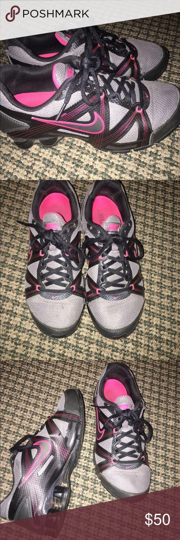 Nike shocks Size 7.5 Nike Shoes Athletic Shoes