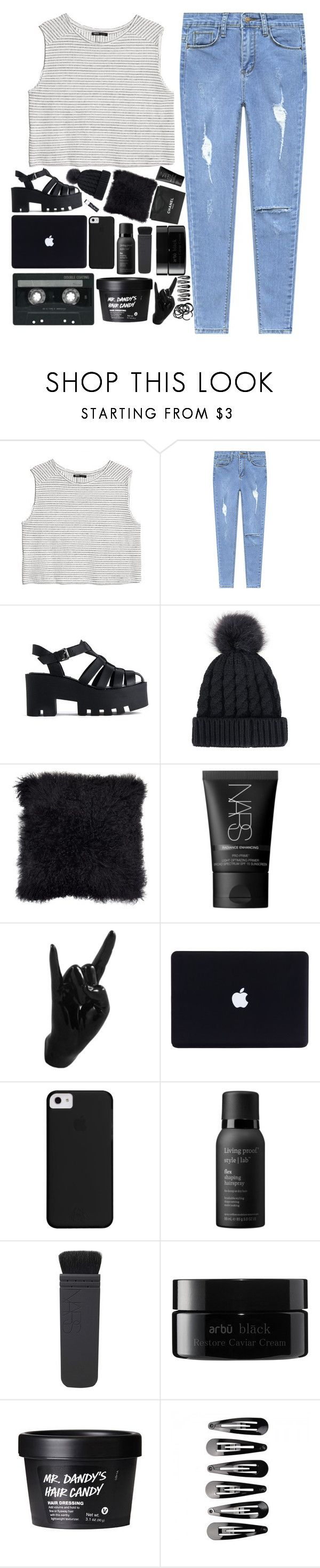 """""""× w r e n × m u s i c × c h a l l e n g e ×"""" by when-you-listen ❤ liked on Polyvore featuring MANGO, Windsor Smith, Chanel, NARS Cosmetics, Thelermont Hupton, CASSETTE, Living Proof, Chapstick, arbÅ« and H&M"""