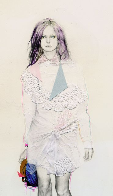 natalia sanabria fashion illustration #illustration #drawing #fashion illustration