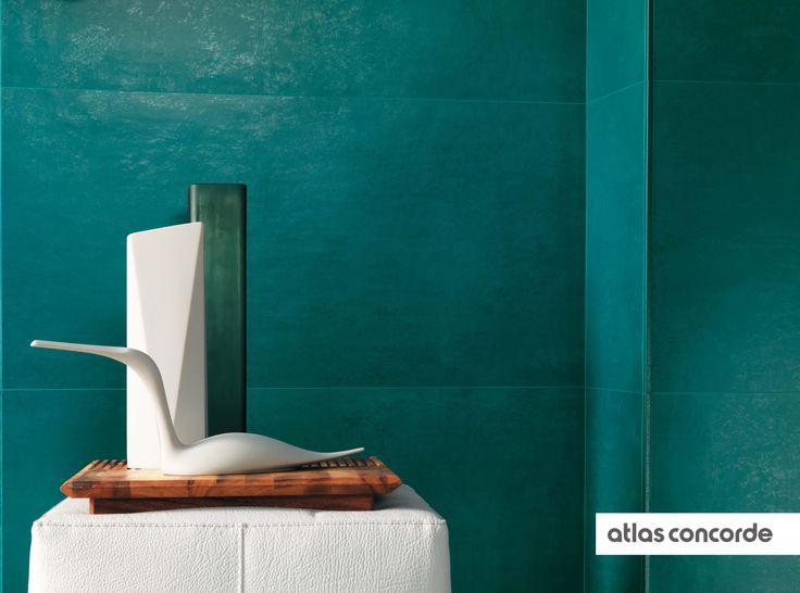 #EWALL petroleum green   #AtlasConcorde   #Tiles   #Ceramic