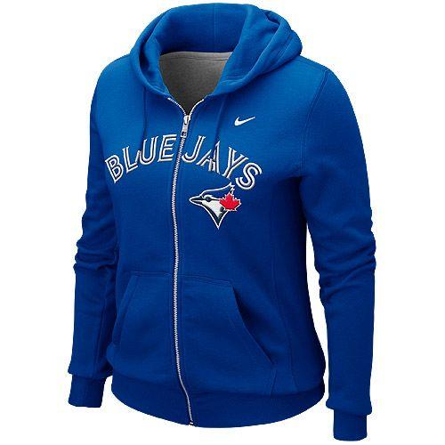 Toronto Blue Jays Women's Full Zip Classic Hoody by Nike - MLB.com Shop