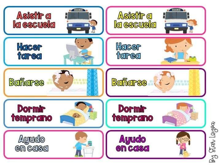 Pin De Maria Garcia En Mis Materiales Educativos Deberes De Los Niños Material Educativo Primeros Grados