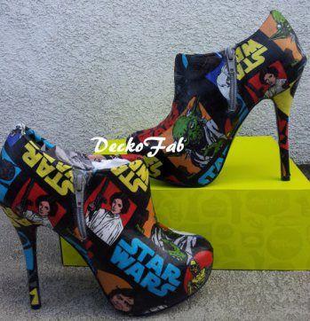 Geek, shoes, the best, star wars, heels