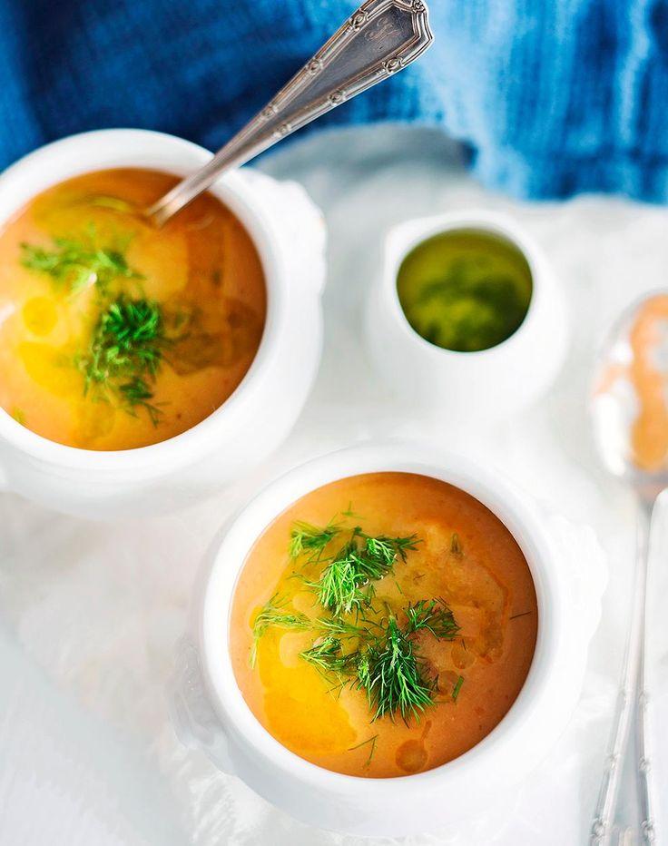 Gazpacho paahdetuista kasviksista