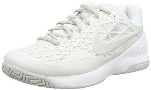 Nike Zoom Cage 2 Summit WhiteLight Bone Womens Women's Tennis and Racquet Sports Shoes Shoes ** See this great product.
