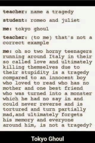 "I know most people like R&J cause it's called ""classic"" but compared to TG it is a complete trash to me 