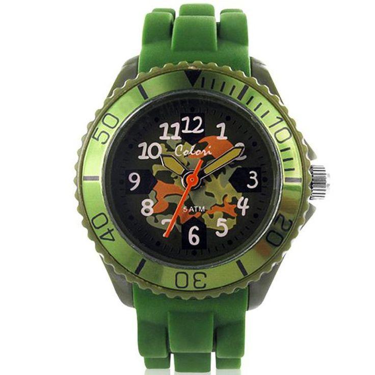 Ρολόι COLORI Kidz Collection Green Silicone Strap - CLK009 - See more at: http://www.e-jewels.gr/eshop/rologia/roloi-colori-kidz-collection-green-silicone-strap-detail.html#sthash.sGvBzQJr.dpuf