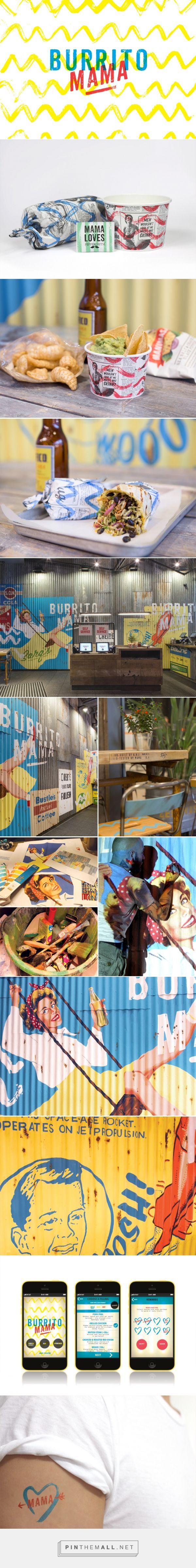 Burrito Mama Restaurant Branding by BuroCreative| Fivestar Branding Agency – Design and Branding Agency & Curated Inspiration Gallery