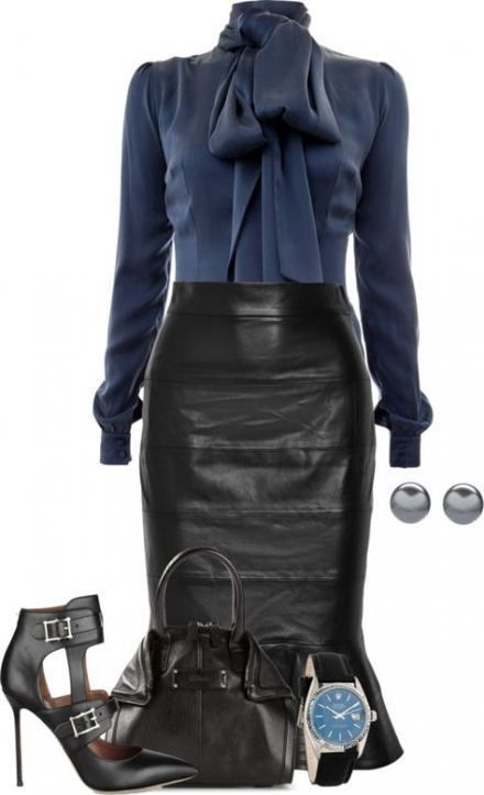 19+ Super Ideas For Skirt Leather Outfit Work Chic – #ideas #leather #outfit #sk…