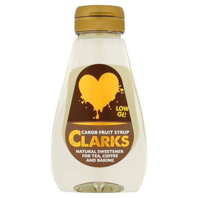 Clarks Carob Fruit Syrup http://www.ocado.com