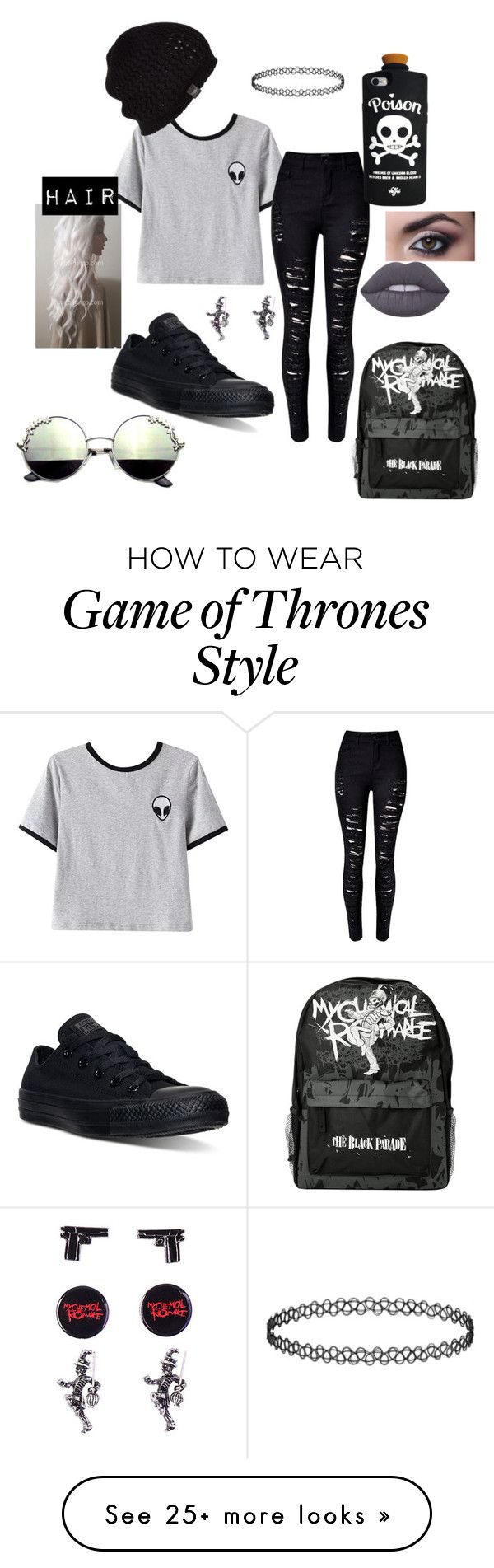"""""""Untitled #56"""" by disturbedcat on Polyvore featuring Chicnova Fashion, Converse, Valfré, UGG Australia and Lime Crime"""