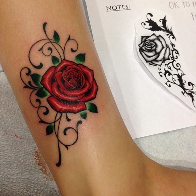 Here's a side by side of what my client gave me as reference and what I came up with from that. Thanks ...