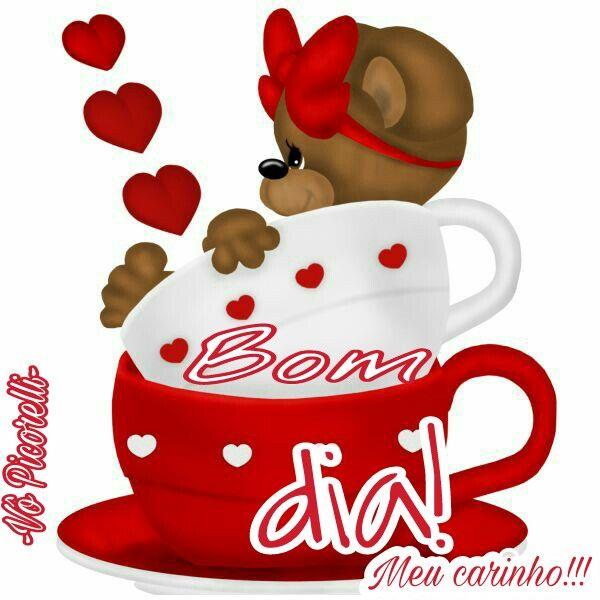 Bom dia! Meu carinho!!!