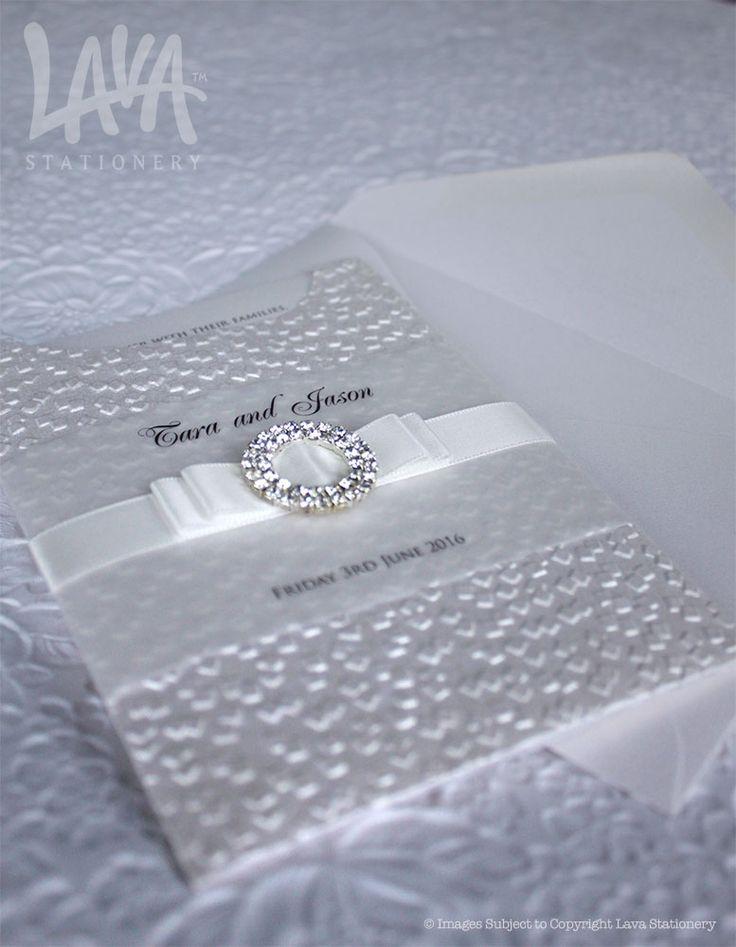 #C6 #GlamourPocket #WeddingInvitation by www.lavastationery.com.au