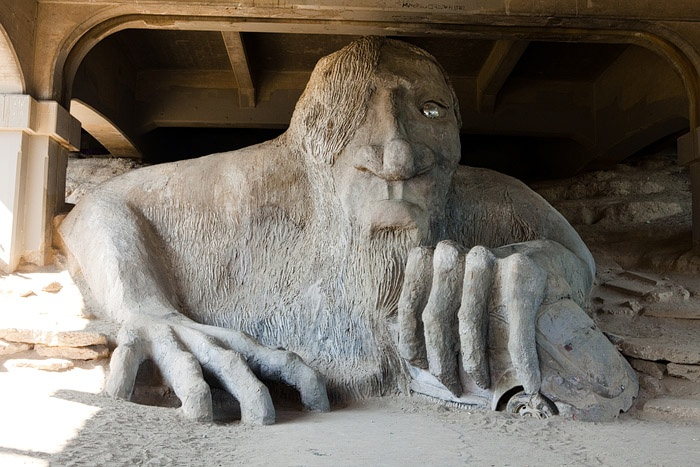 The Fremont Bridge Troll