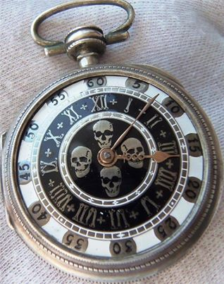 Skull Watch I so want this