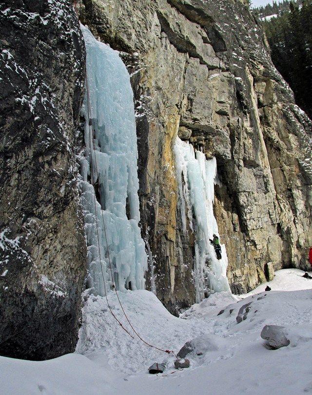Grotto Creek Canyon, Bow Valley Corridor, Alberta, Canada