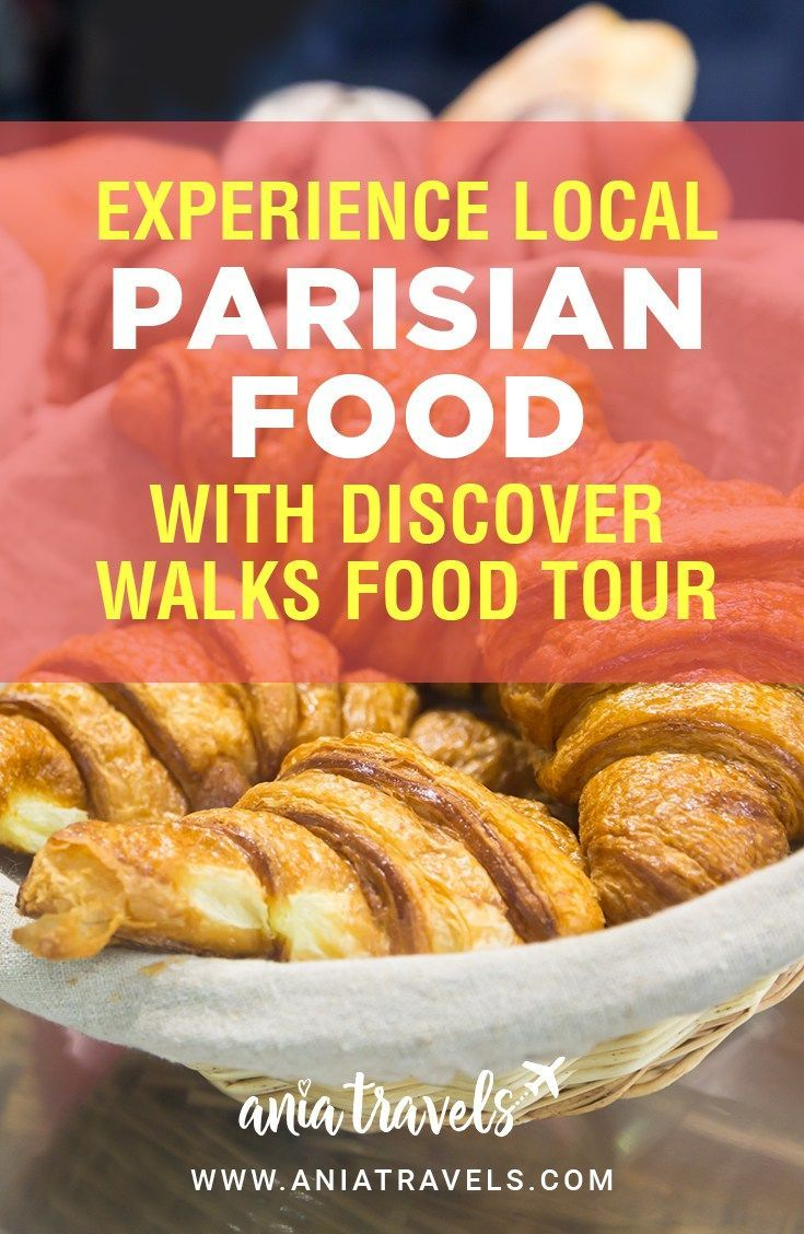 I'm a huge fan of foodtours, to me food is an extremely important part of traveling. This is my experience with Discover Walks Paris Food Tour. | Food Tour | Paris | Foodie | Walking Tour | Discover Walks