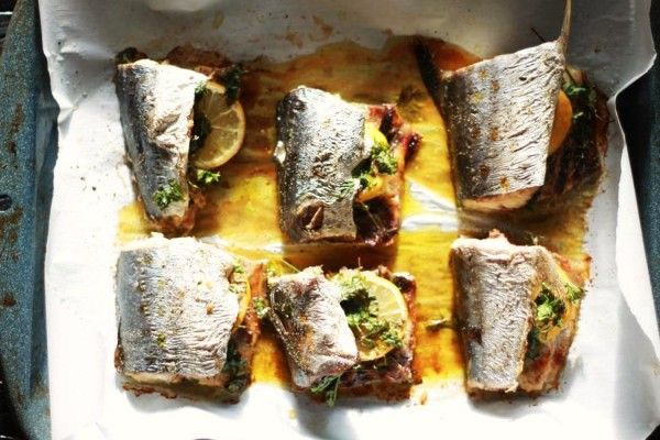 Oven Roasted Spanish Mackerel The Mediterranean Dish  http://www.themediterraneandish.com/oven-roasted-spanish-mackerel/
