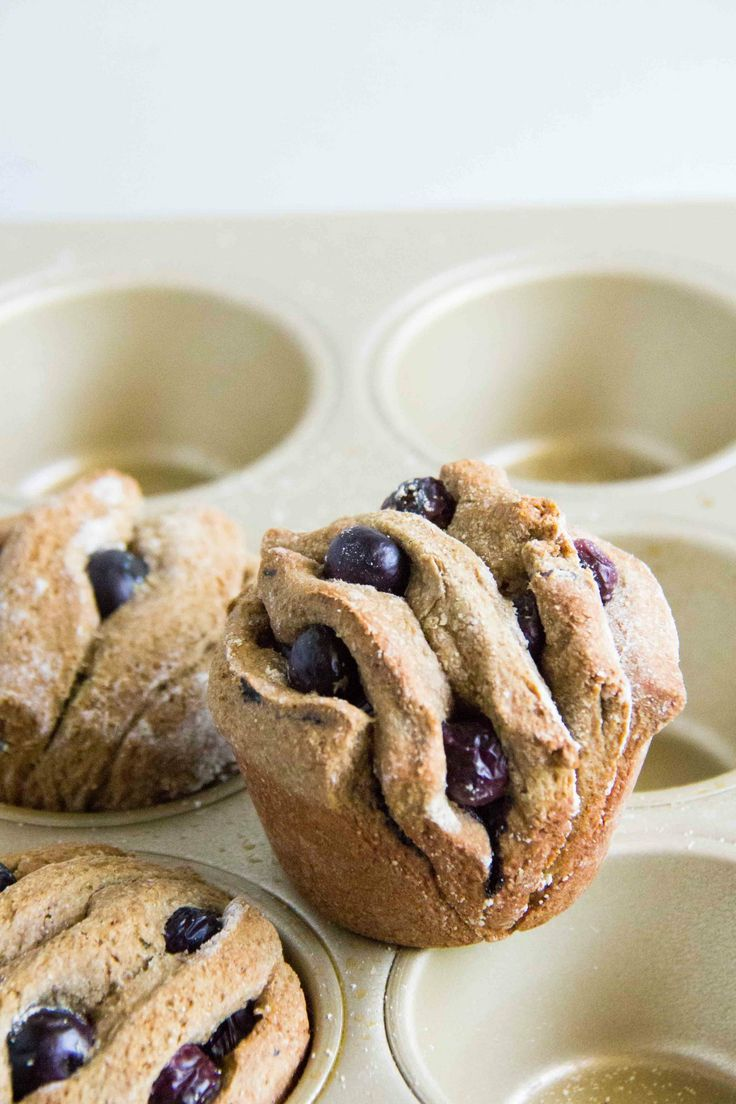 Blueberry Pull Apart Muffins