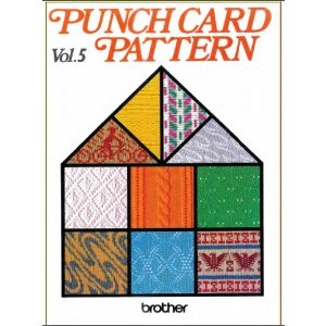 WOW! 334 PAGES of punch cards and ideas!!!!!! Brother Punch Cards Volume 5 - Brother-KnitKing