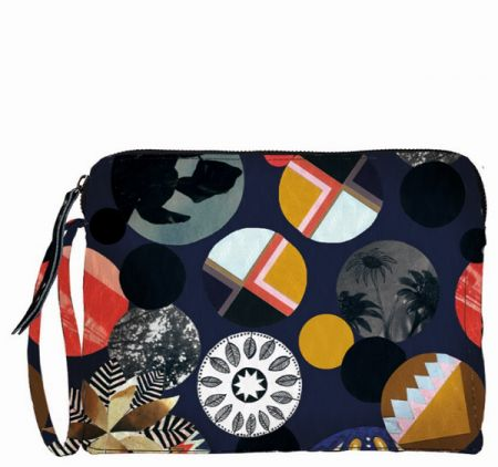Take it back to the funky 70's with this makeup bag from Beck Söndergaard.