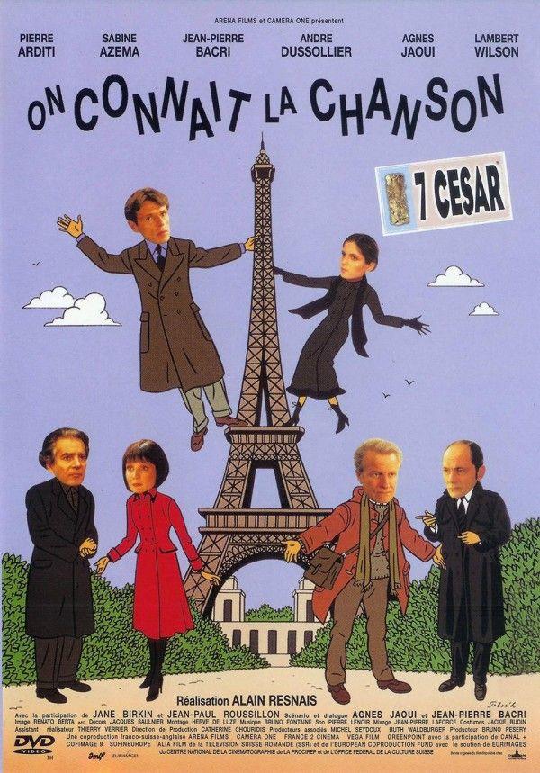 Affiche du film On connaît la chanson