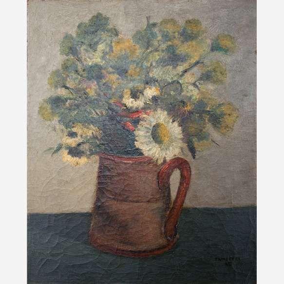 José Pancetti<br>Óleo sobre tela. <br>41 x 33 cm.