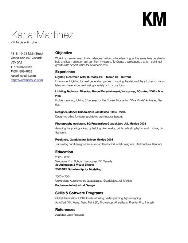 Lots of really great (and free) templates for resume\u0027 formatting