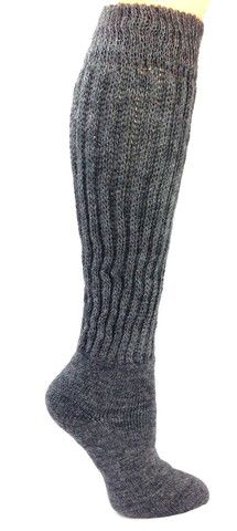 Have Cold Feet?  Want to Feel Better?  A warm and exceptionally soft sock with less restrictive ribbing around the ankle to help promote blood flow circulation. Therapeutic Alpaca Socks are specifically designed for those with cold and aching feet. Great for those who do not want a restrictive feel around their lower legs, especially for diabetics and Rheumatoid arthritis. Enjoy the comfort of a ribbed sock combined with the warmth of alpaca.