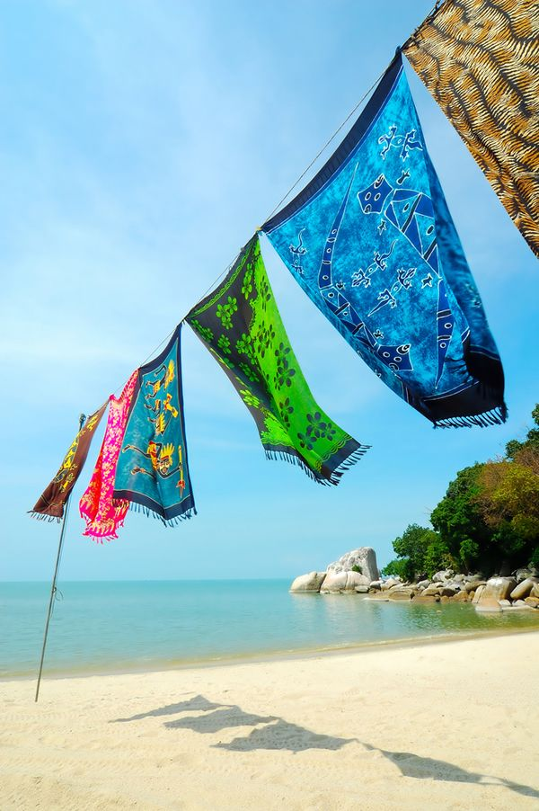 Batik fabric, pattern or great visual???? Love.
