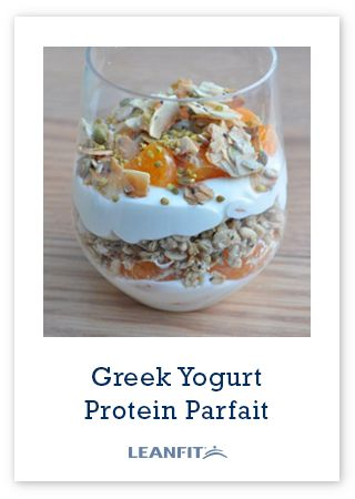 Healthy & whipped coconut-granola crunch with each scoop! Make this Greek Yogurt Protein Parfait as an on-the-go carry out snack to satisfy you between meals.
