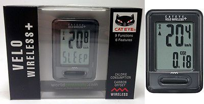 Cycle Computers and GPS 30108: Cateye Velo Wireless + Cycling Computer 9 Function Cc-Vt210w Road Touring Bike -> BUY IT NOW ONLY: $33.91 on eBay!