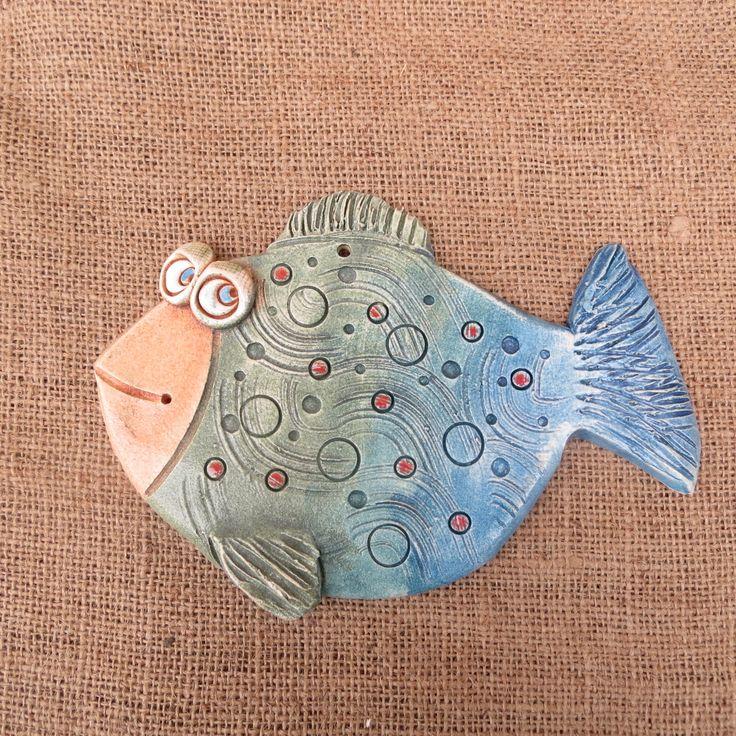 keramická ryba 3