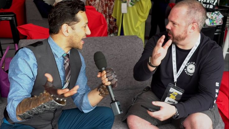 CAS ANVAREnjoy moment INFUSION TV had excellent with Cas Anvar when did attend Middle East Film & Comic Con 2017 talks about Alex Kamal-The Expanse and ALTAIR-Assassins's Creed Revelations
