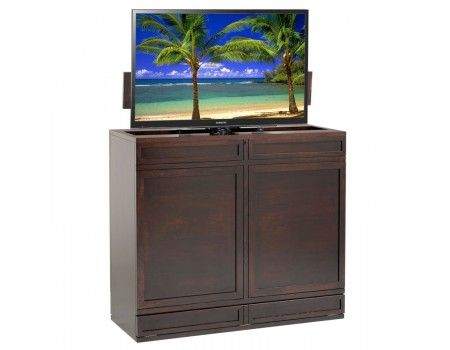 moderna 360 swivel tv lift cabinet