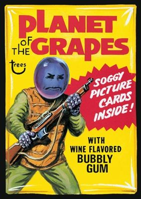 Planet Of The Grapes: Topps Wacky Packages Wall Graphics from WALLS 360. http://www.walls360.com/wackypackages