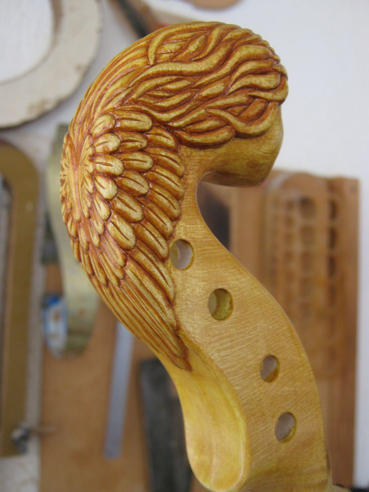 ANGEL VIOLIN - make by Rumen Spirov 2014 -( Author project) - design and making of - violin , woodcarving handmade ,accessories and Angel head - all is make by Rumen Spirov - violin maker from Bulgaria