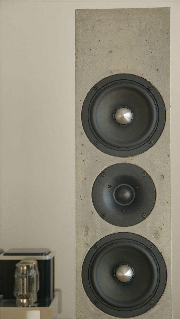 High end Lautsprecher aus HP Gussbeton von BETONart Audio - made in Germany!