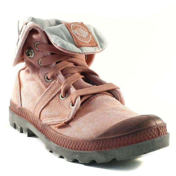 234A PALLADIUM US BAGGY W ROSE www.ouistiti.shoes le spécialiste internet de la chaussure bébé, enfant, junior et femme collection printemps été 2015