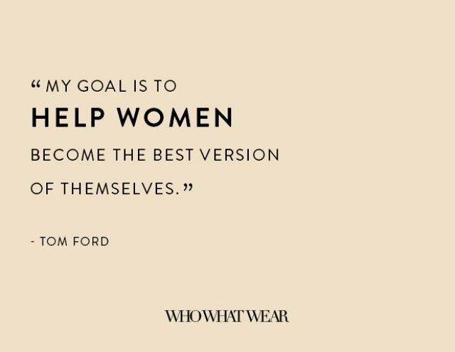 The 18 Most Provocative Tom Ford Quotes of All Time | WhoWhatWear UK